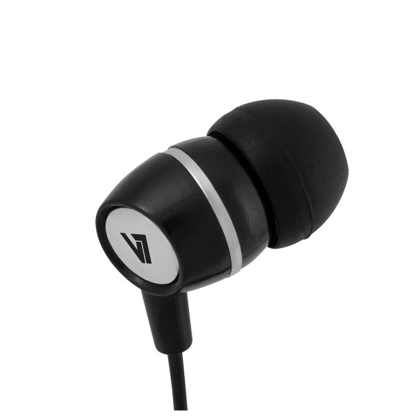 V7  3.5mm Noise Isolating Stereo Earbuds with Inline Mic