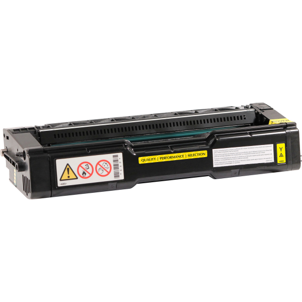 Yellow Toner Cartridge for select Ricoh printers - Replaces 406478