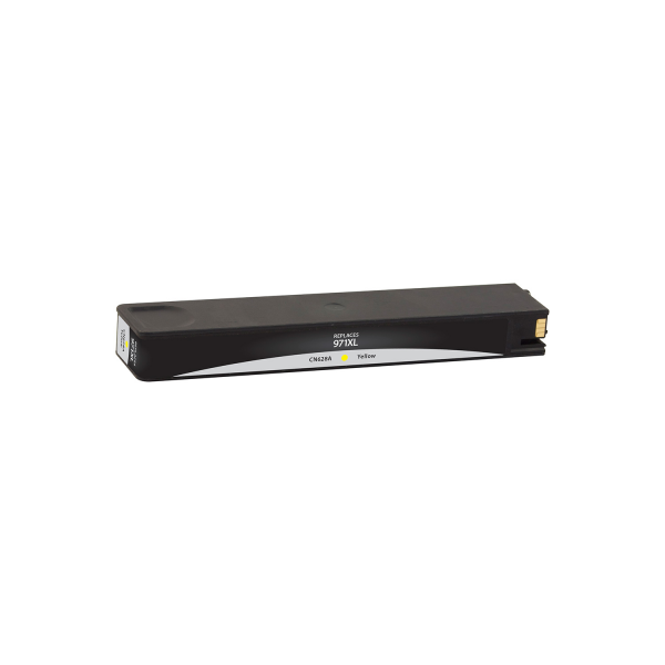HP 971XL Yellow CN628AM Ink - 6600 Page Yield, Replaces HP CN628AM