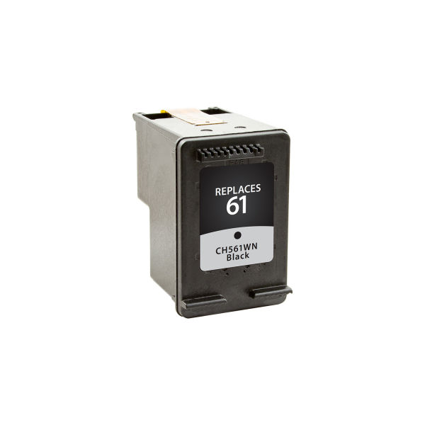 HP 61 Black CH561WN#140 Ink - 190 Page Yield, Replaces HP CH561WN#140