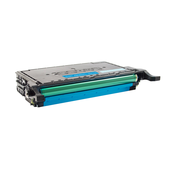 Samsung Cyan CLP-77xND Toner - 7000 Page Yield, Replaces CLT-C609S
