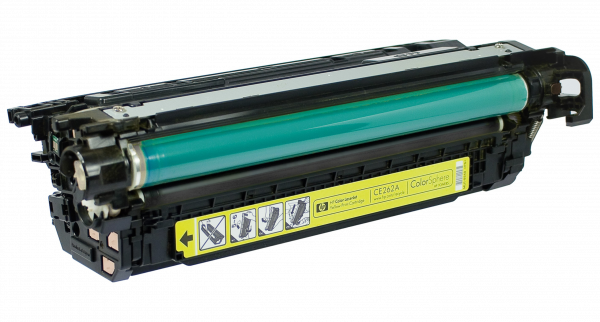 Color Laser Toner for select HP printers - Replaces CE262A (HP 648A)