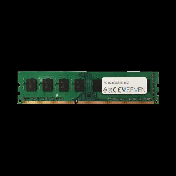 V7 8GB DDR3 160 8GB DDR3 1600MHZ UDIMM V71600DDR3D-8GB