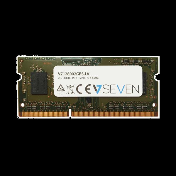 2GB DDR3 PC3L 12800 - 1600Mhz SO DIMM Notebook Memory Module - V7128002GBS-LV