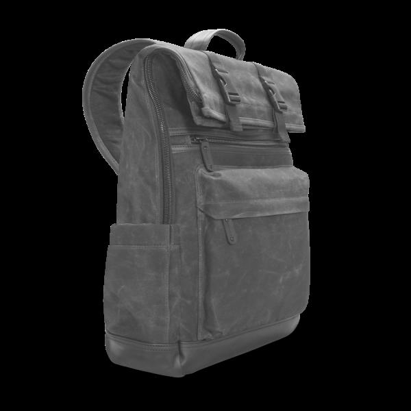 Zaino di tela roll-top Elite per PC portatile V7 da 16