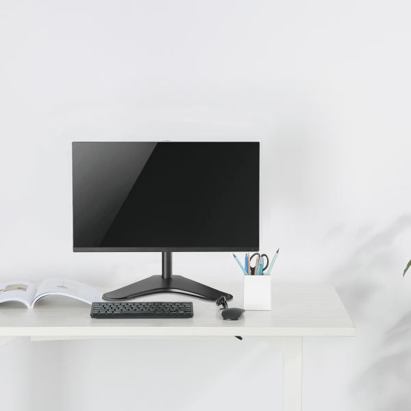 V7 Free Standing Desk Stand Single