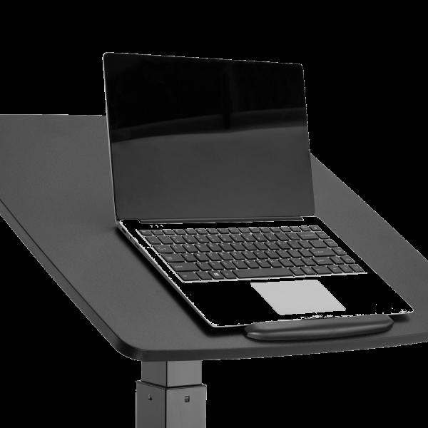 V7 Gas Spring Height Adjustable Lectern, Podium with Tilt, Laptop, Presentation