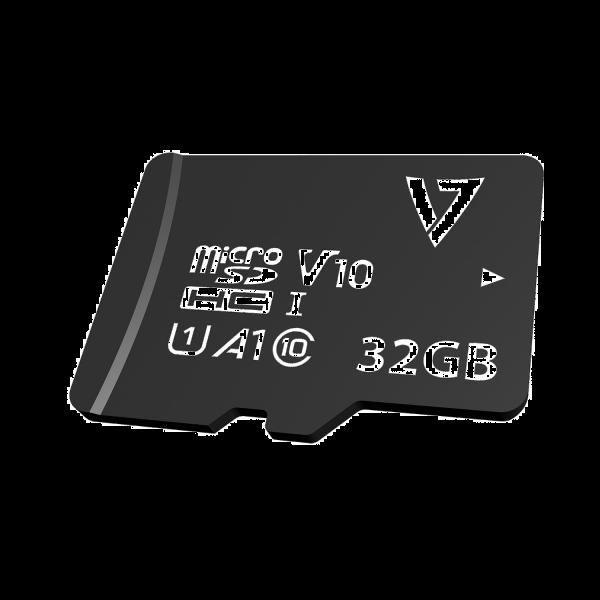 32GB Class 10 U1 A1 V10 Micro SDXC Card + Adapter