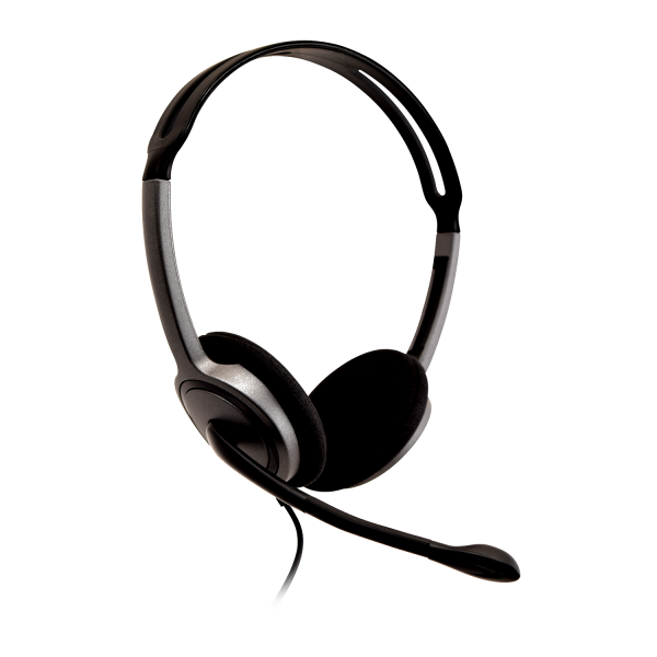 V7 Lightweight Stereo Headset with Microphone - Bulk Pack