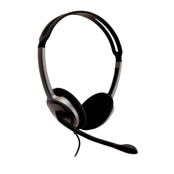 V7 Lightweight Stereo Headset with Microphone