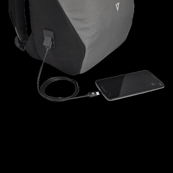 16in Deluxe UV-C Backpack - Gray