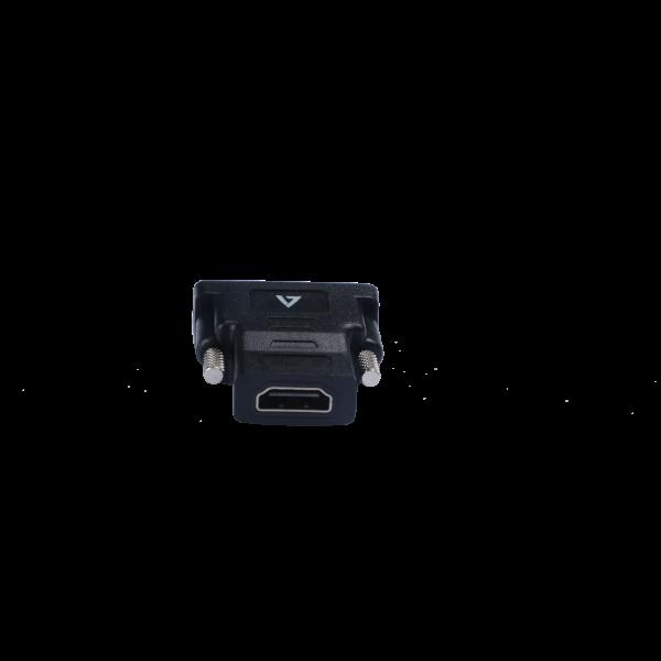 V7 Black Video Adapter DVI-D Male to HDMI Female