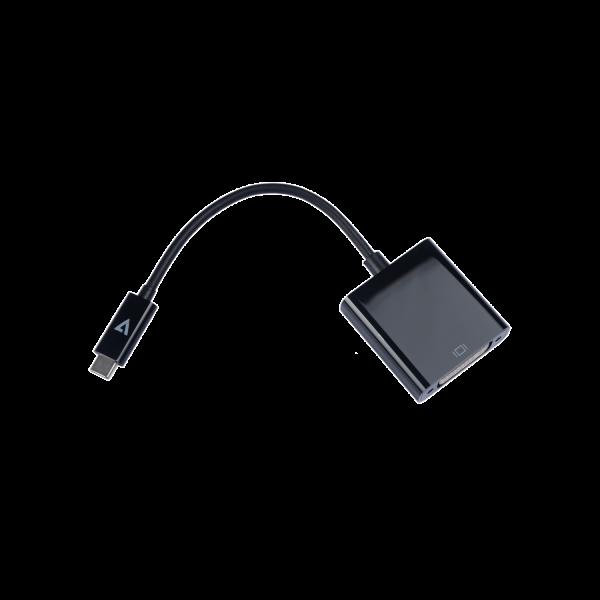 USB-C Male to DVI-I Female 1080P FHD