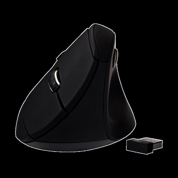 Vertical Ergonomic 6-Button Wireless Optical Mouse