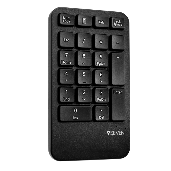 Ergonomic Wireless Keyboard, Mouse, and Keypad Combo