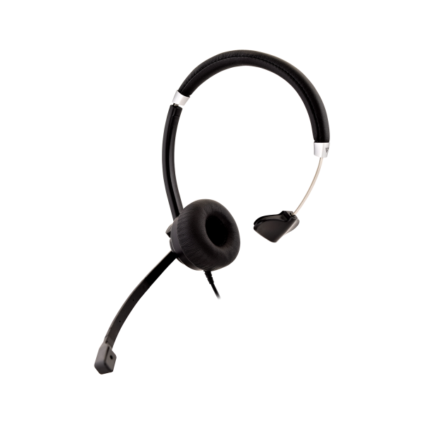 V7 Deluxe USB Mono Headset with Boom mic