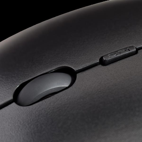 Low Profile USB Optical Mouse - Black