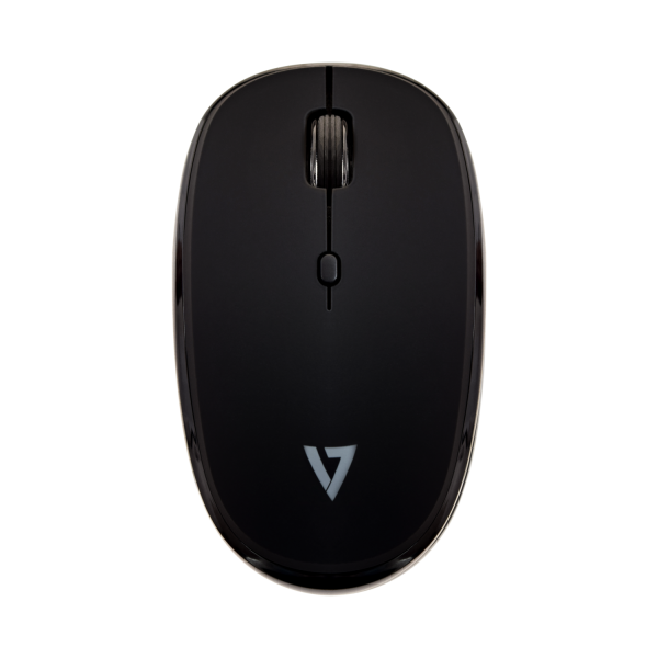 V7 Bluetooth 4-Button Mouse - Black