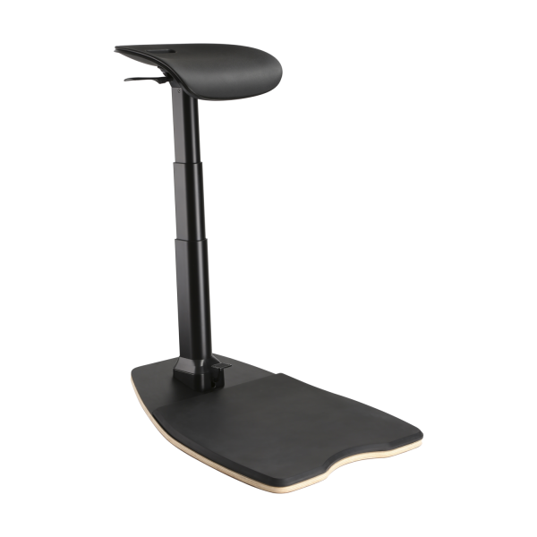 Ergonomic Leaning Chair - Black