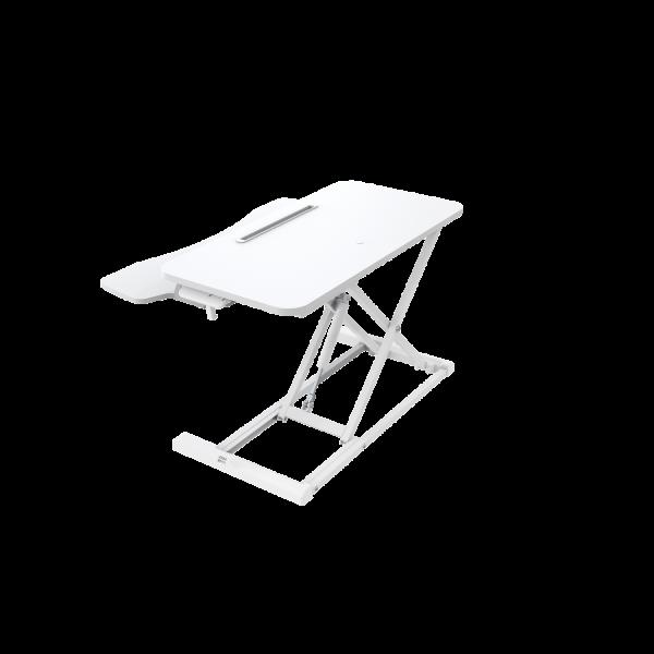 Sit-Stand Essential Desktop Workstation - White