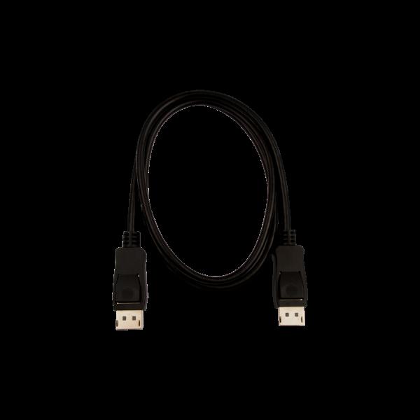V7 Black Video Cable Pro DisplayPort Male to DisplayPort Male 1m 3.3ft