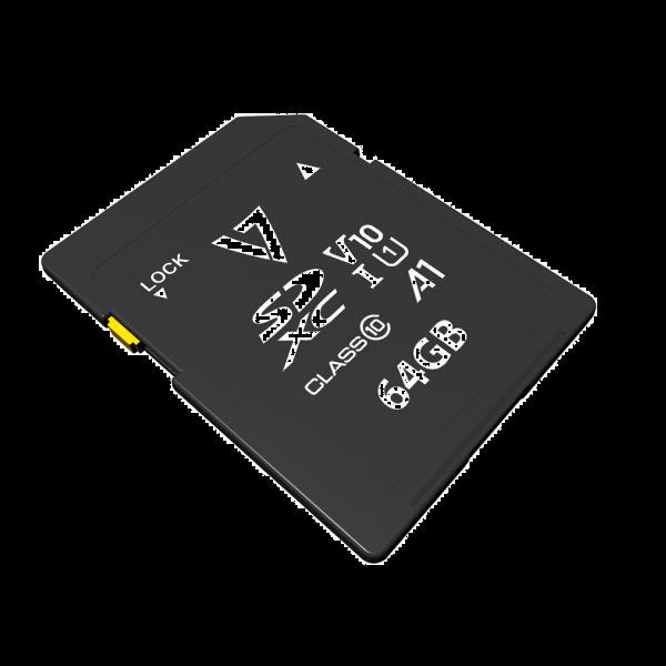 Tarjeta SDXC V10 U1 A1 CL10 UHD de 64GB