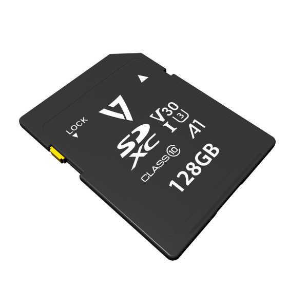 128GB SDXC Card V30 U3 A1 CL10 4K UHD-MAX