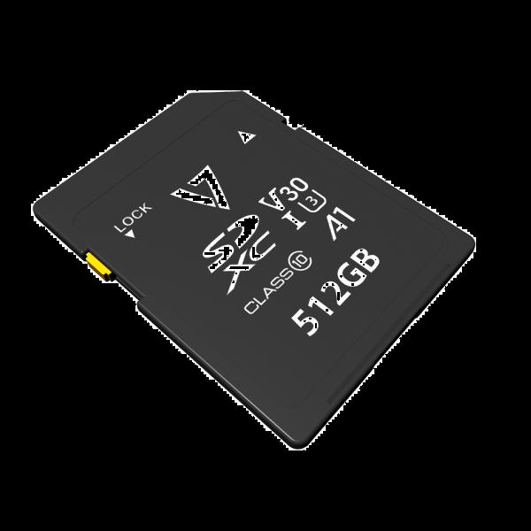 Tarjeta SDXC UHS-3 V30 A1 de 512GB