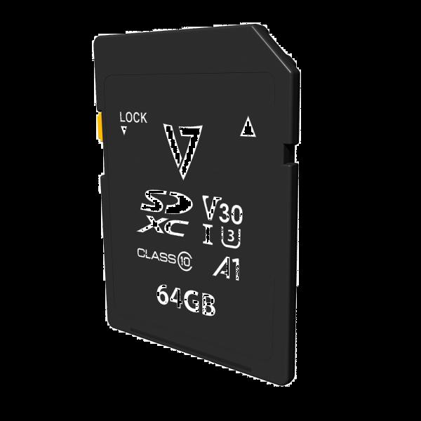 64GB SDXC Card V30 U3 A1 CL10 4K UHD-MAX