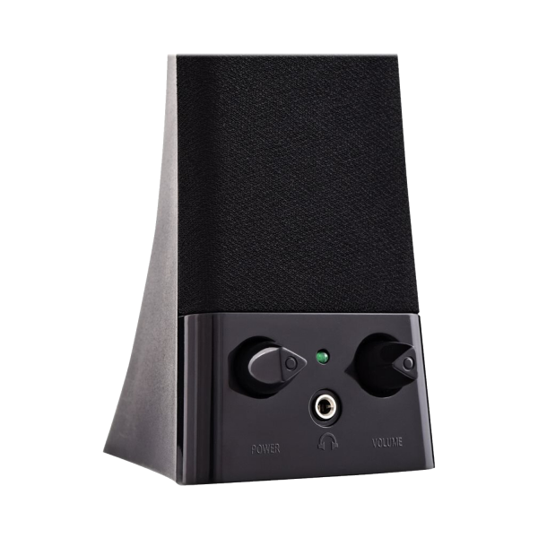 V7 USB Powered Stereo Speakers - Black