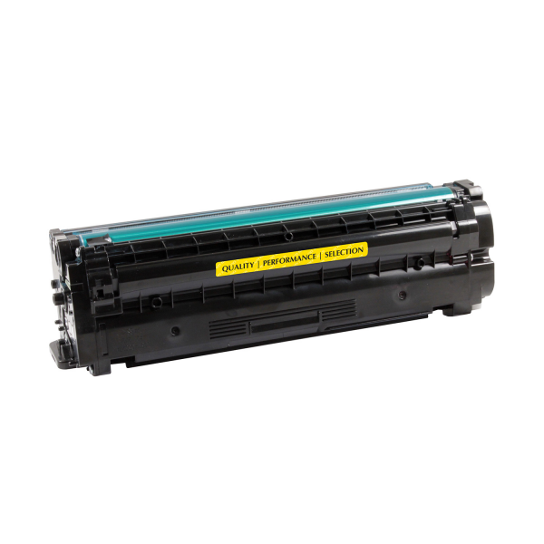 V7 Remanufactured Yellow Toner Cartridge for Samsung CLT-Y505L - 3500 pages