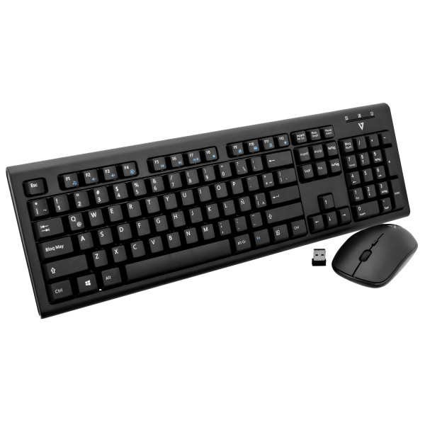 Wireless Keyboard and Mouse Combo - Black - MX