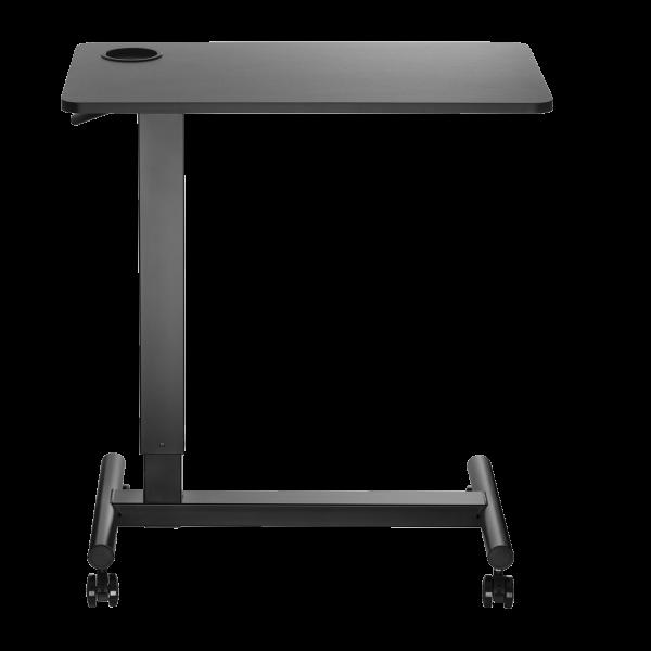 V7 Gas Spring Height Adjustable Side Desk, Overbed
