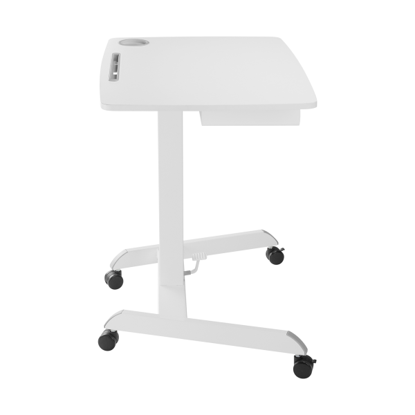 V7 Gas Spring Height Adjustable Desk with Drawer, Student, Classroom