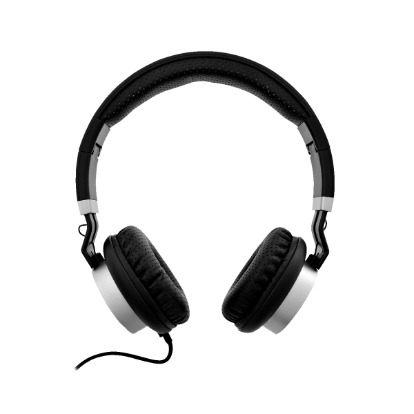 V7 Premium 3.5mm On-Ear Stereo Headphones with Microphone