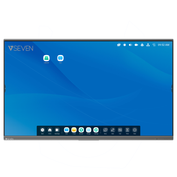 V7 Interactive Flat Panel (IFP) - 86 Inch 4K Android 9 Display
