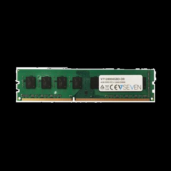 4GB DDR3 PC3-12800 - 1600Mhz DIMM Desktop Memory Module - V7128004GBD-DR