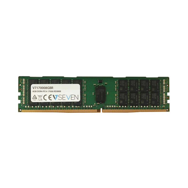 8GB DDR4 PC4-17000 - 2133Mhz SERVER REG Server Memory Module - V7170008GBR