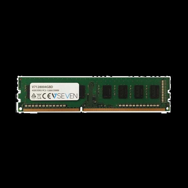 4GB DDR3 PC3-12800 - 1600Mhz DIMM Desktop Memory Module - V7128004GBD