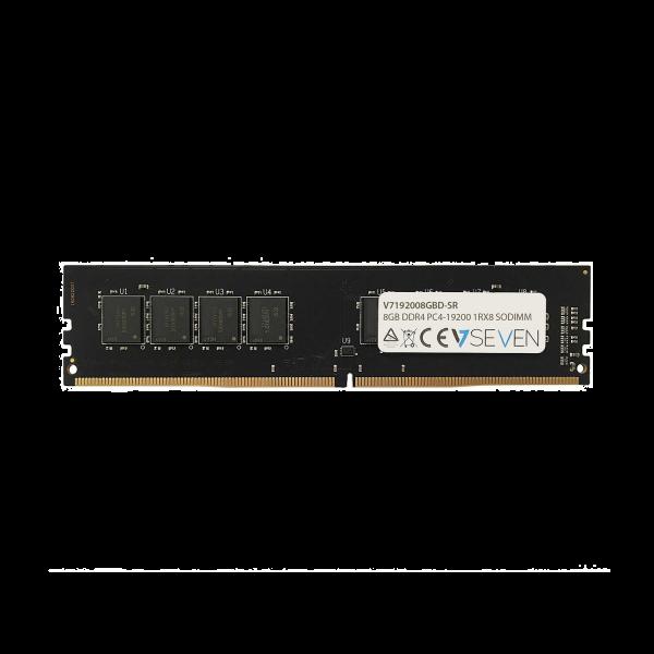 8GB DDR4 PC4-19200 - 2400Mhz DIMM Desktop Memory Module - V7192008GBD-SR