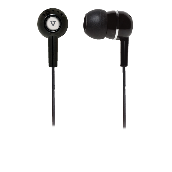 V7 3.5mm Noise Isolating Stereo Earbuds