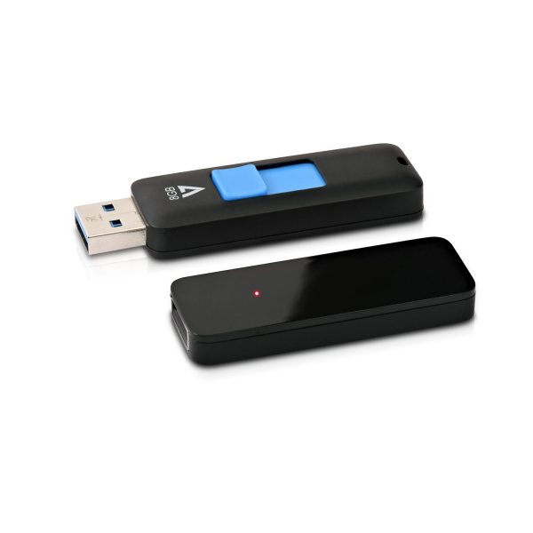 8GB USB 3.0 Flash Drive - With Retractable USB connector