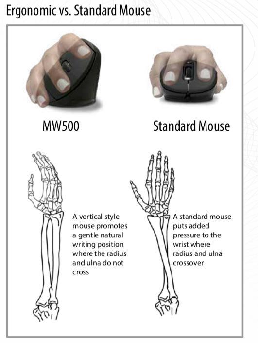 Mouse Ergonomics Graphic